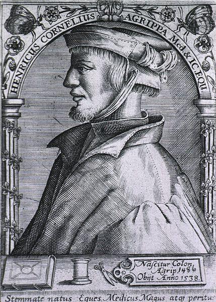 Heinrich Cornelius Agrippa, alchimista che studiò i poteri esoterici della stella Amaltea