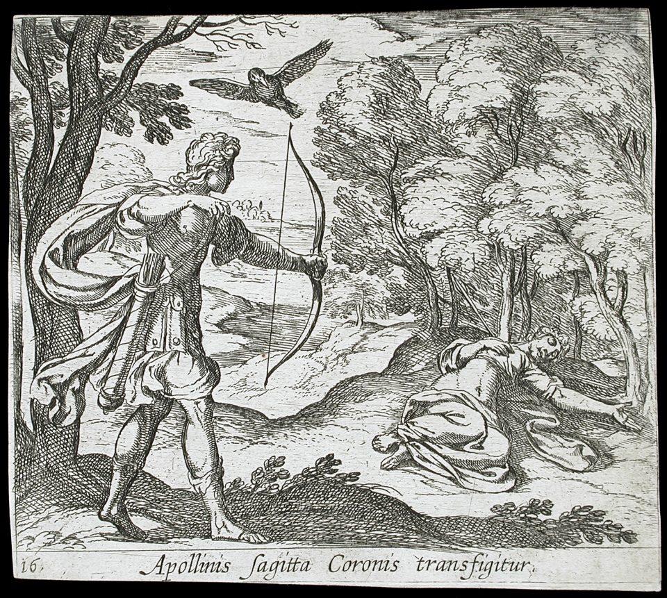 Apollo uccide Coronide