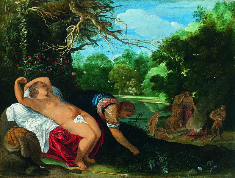 Apollo e Coronide, Johann Konig