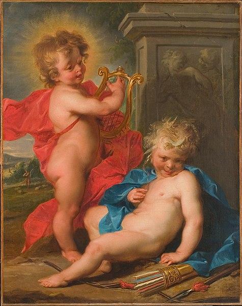 Apollo e diana bambini, i due Dei gemelli