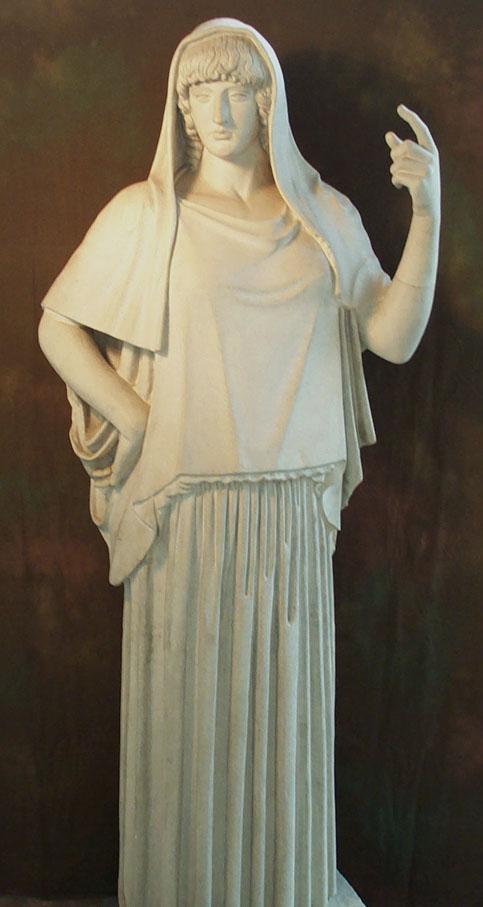Statua romana di Estia