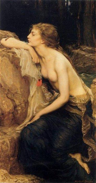 Lamia, amante di Zeus, ritratta da Draper, è per noi un parallelo della Llorona nella mitologia greca