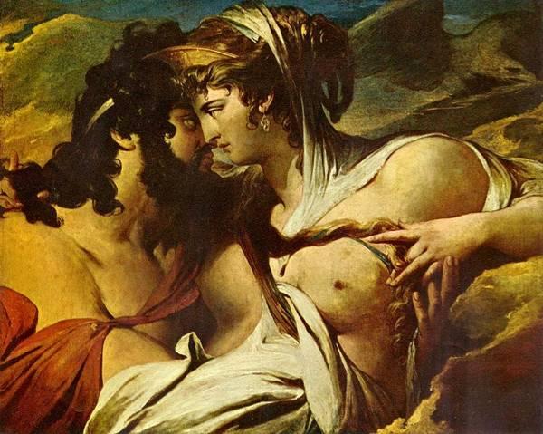 Era e Zeus sul monte Ida