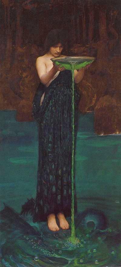 Circe invidiosa di John William WATERHOUSE