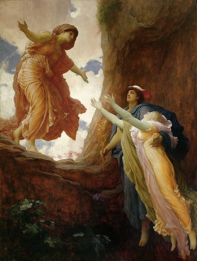 Persefone ritorna da Demetra