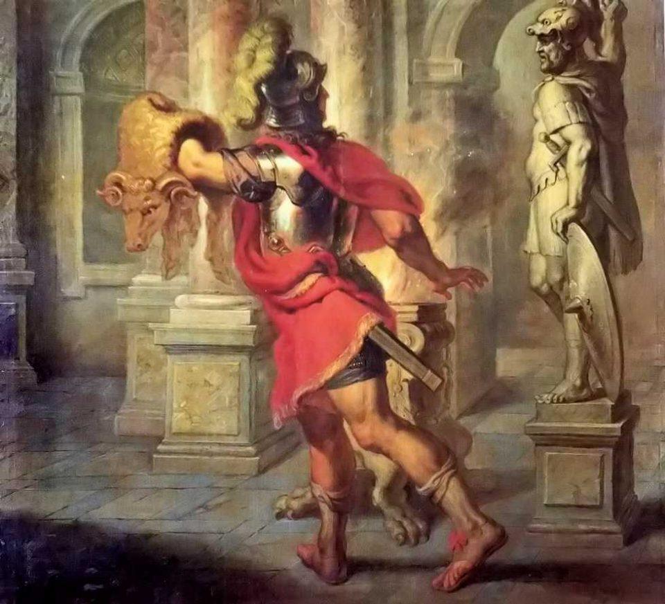 Giasone e il vello d'oro, Quellinus, 1608,  Museo del Prado, Madrid