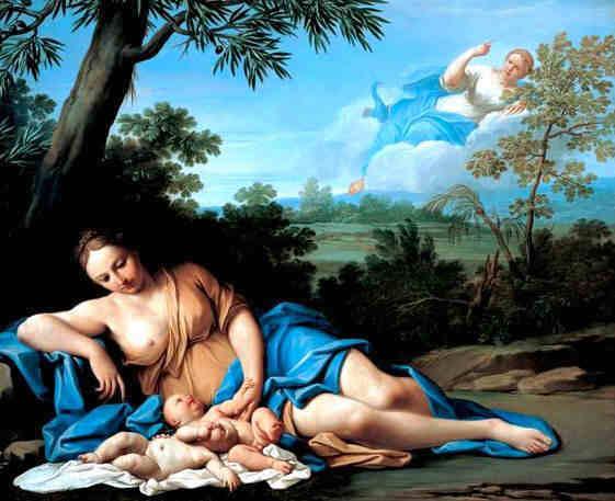 Leto amante di Zeus e madre di Apollo e Artemide