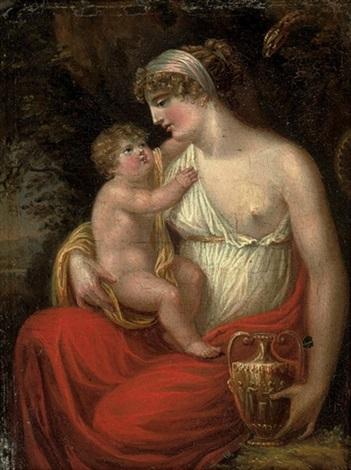 Thomas Stothard, Alcmena e il giovane Eracle