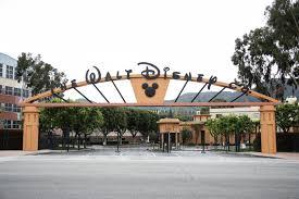 L'ingresso dei Walt Disney Studios a Burbank, California