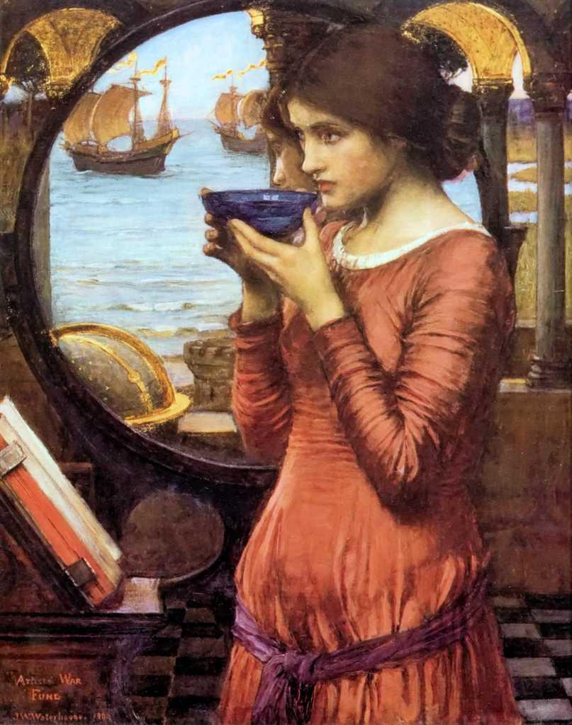 Destino, Johan William Waterhouse, 1900 Towneley Hall Art Gallery and Museum, Burnley, UK