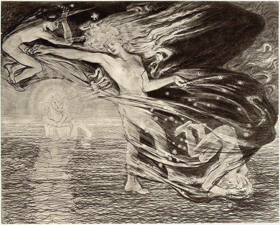 Stanisław Wyspiański - Eos, Lucifero, Vespro e Helios, 1897