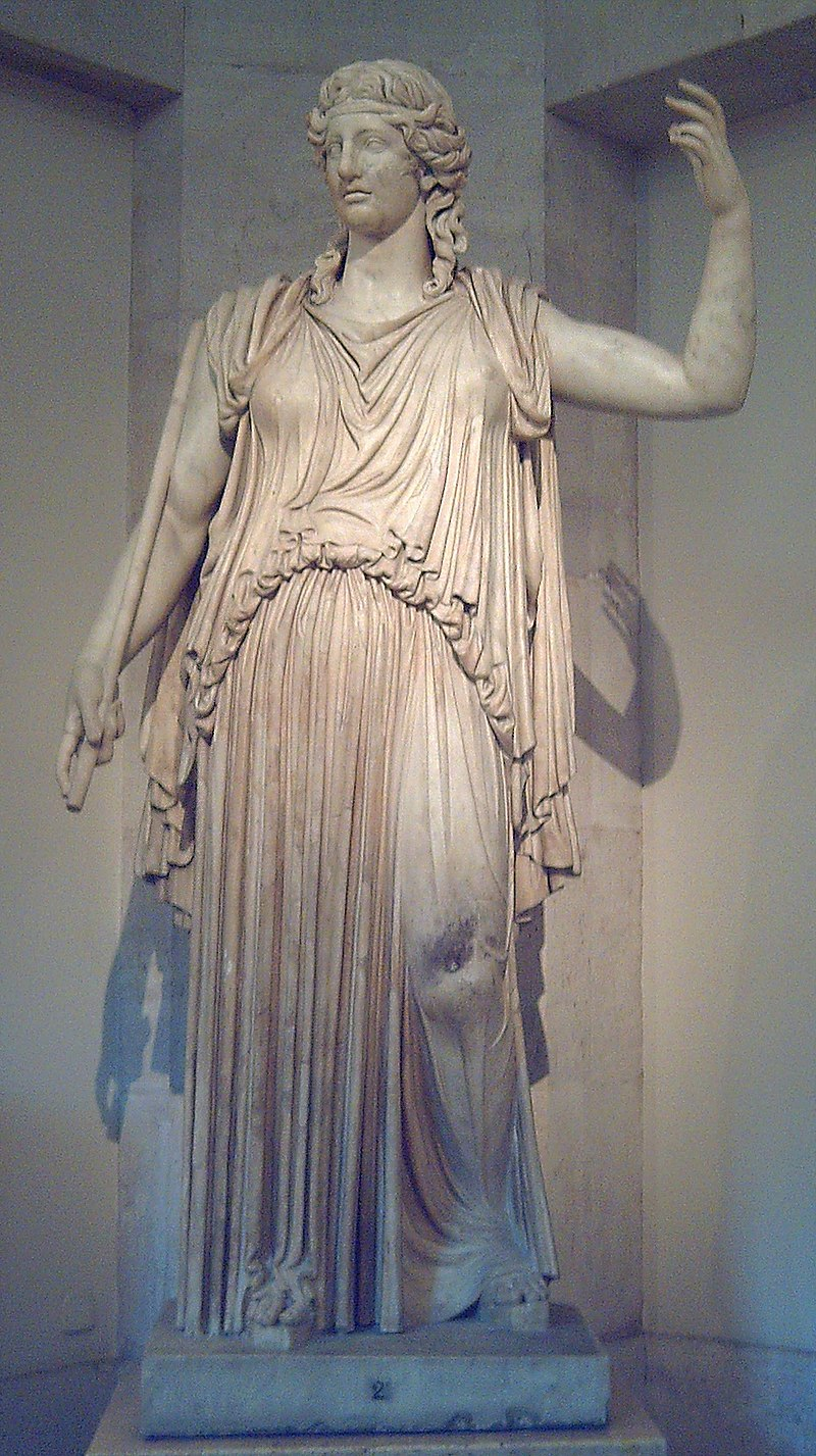 Statua romana di Demetra