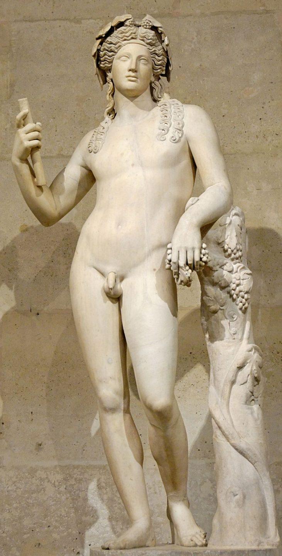 Statua romana di Bacco