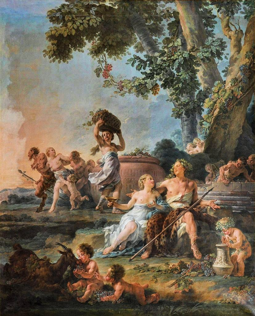Triondo di Dioniso, Noël Hallé, 1776, Castello di Versailles