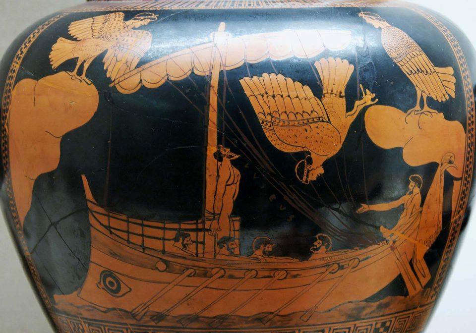 Le sirene tentano Odisseo