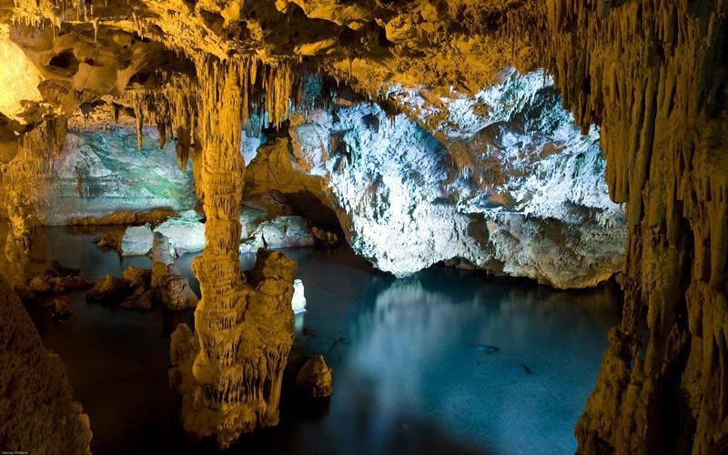 le grotte di Nettuno ad Alghero, Sardegna