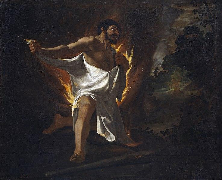 La morte di eracle nella mitologia