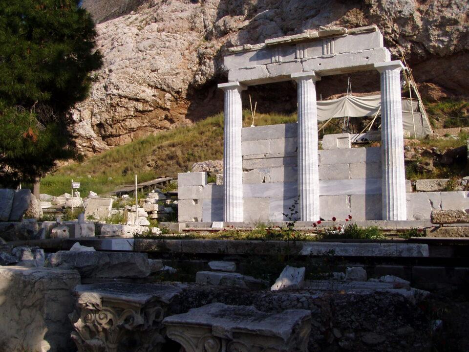 Tempio di Asclepio a Cos, in Grecia