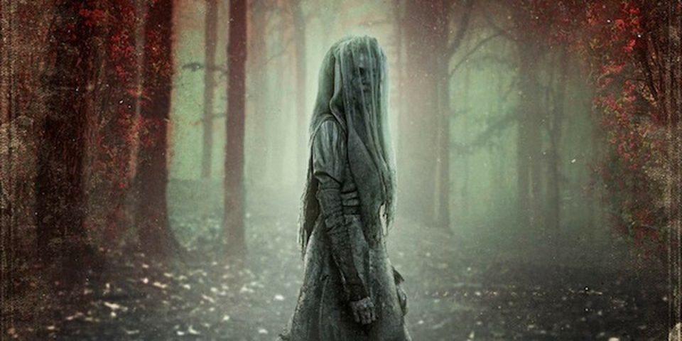 La Llorona, spirito dell'america latina, dalla locandina del film The Curse of La Llorona