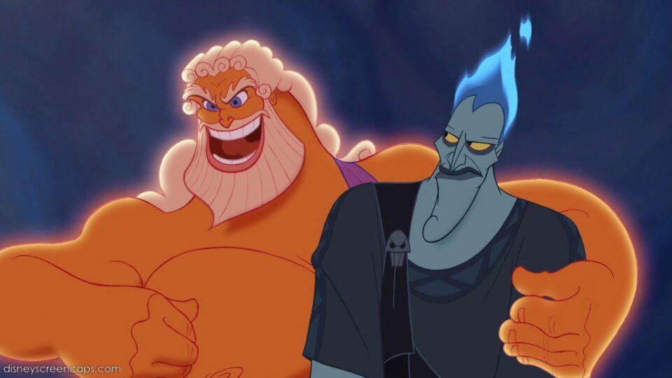 Ade e Zeus in una sequenza del film