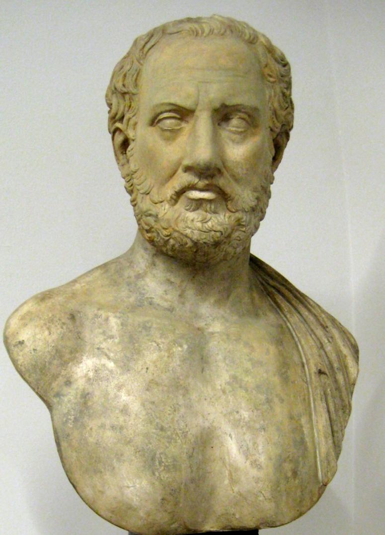 Busto di Tucidide, Museo Puškin delle belle arti, Mosca.