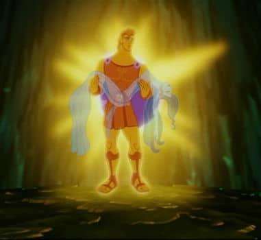 Hercules diventa immortale assurgendo allo stato divino