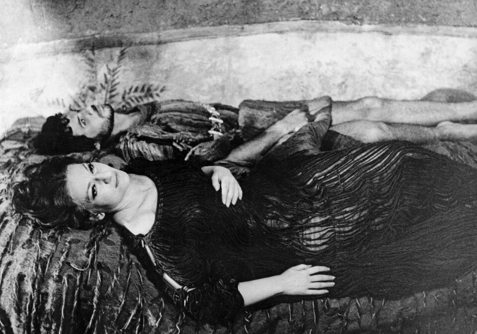 Maria Callas interpreta Medea nel film di Pasolini