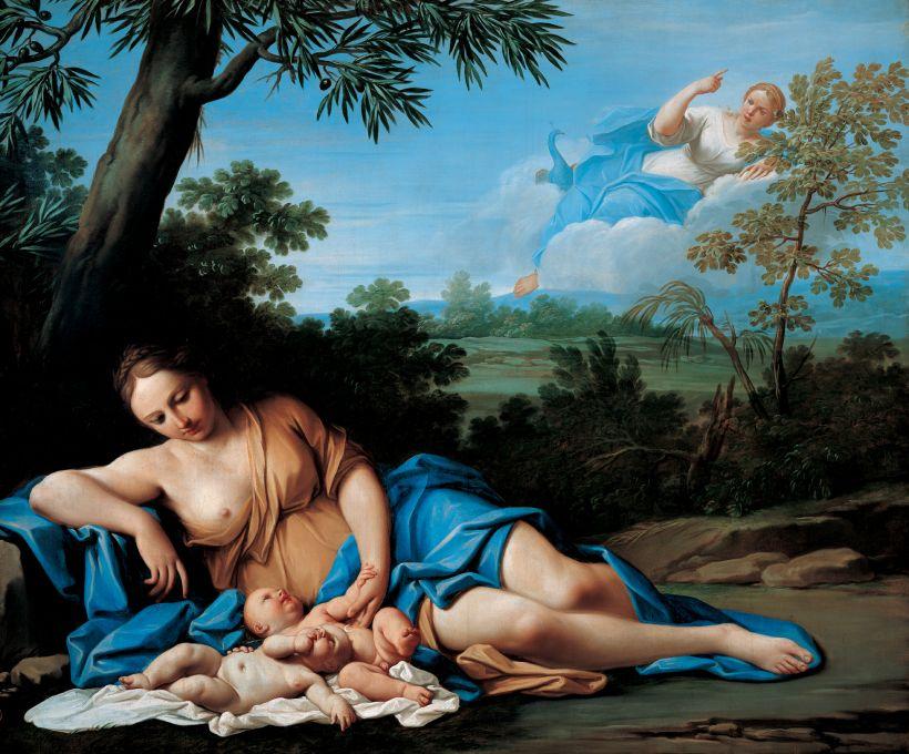 Nascita di Apollo e Artemide