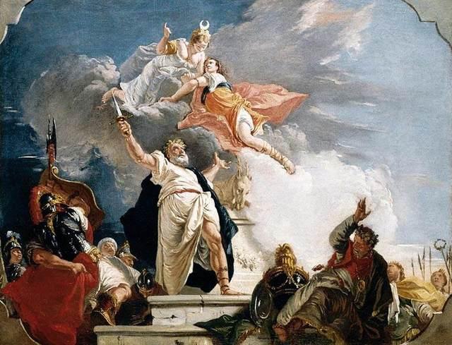 Ifigenia nella mitologia può essere paragonata al sacrificio di Shereen nel trono di spade