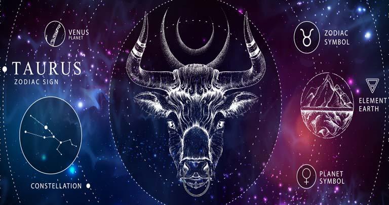 Schema con i dati fondamentali sul segno dello zodiaco toro