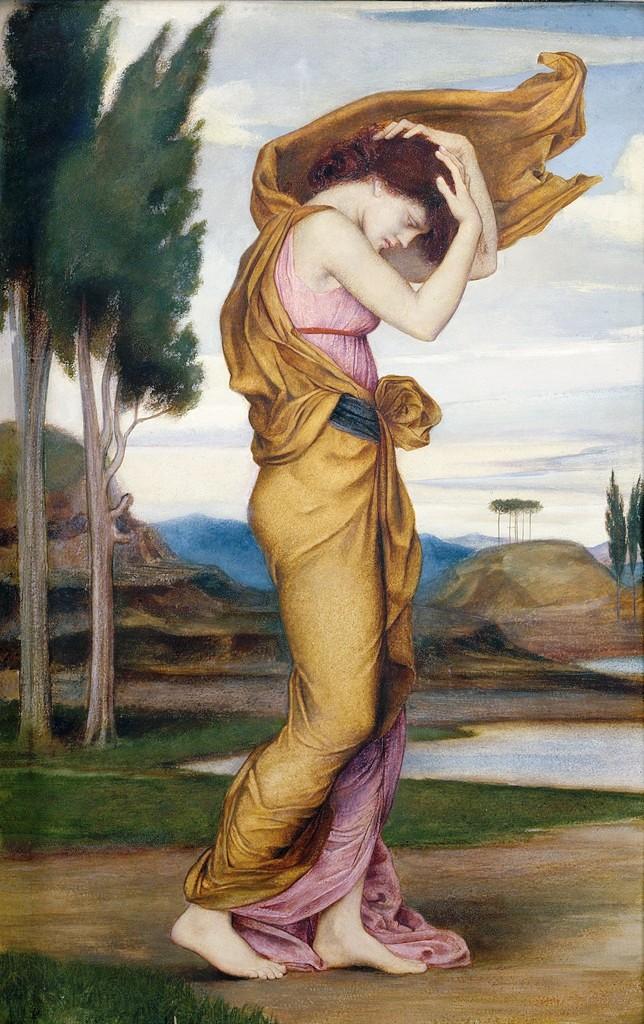 Deianira dipinta da Evelyn de Morgan nel 1878 ca, oggi conservato in collezione privata.