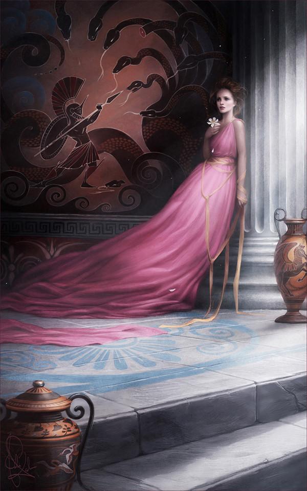 Megara in una fan art di Melanie Delon